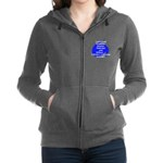 I Survived girls logo3.png Women's Zip Hoodie