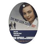 cleangirls.jpg Ornament (Oval)