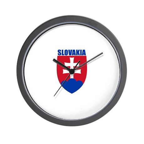Slovakia Wall Clock