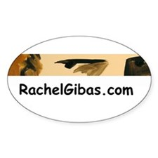 Gibas Oval Decal