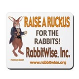 Raise A Ruckus For The Rabbits Mousepad