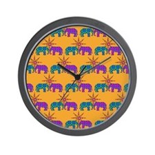 Cute Bright color Wall Clock
