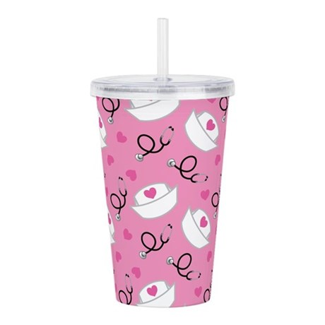 Nurse Occupation Acrylic Double-wall Tumbler