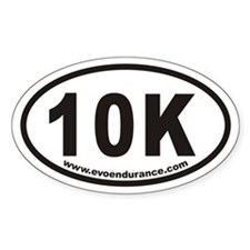 10k Www.evoendurance.com Oval Decal