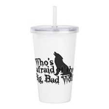 Big Bad Wolf Acrylic Double-wall Tumbler