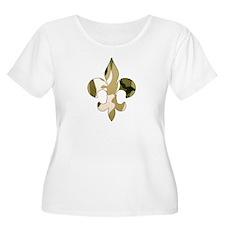Fleur de lis Camo T-Shirt
