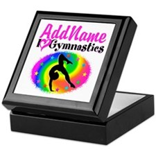 TOP NOTCH GYMNAST Keepsake Box