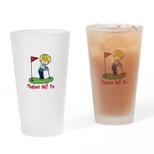 Mini Golf Pro Drinking Glass
