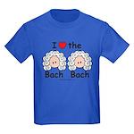 I Love the Bach Double Kids Royal Blue T-Shirt