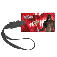 Red Ronan Luggage Tag