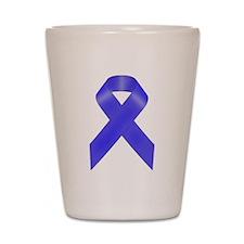 Awareness Ribbon Shot Glass