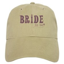 Bride to Be Purple Baseball Cap