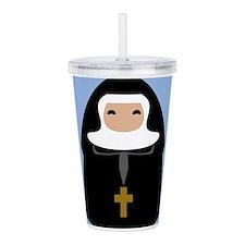 nuns-cute-1_9x12.png Acrylic Double-wall Tumbler