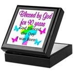 90TH LOVE JESUS Keepsake Box