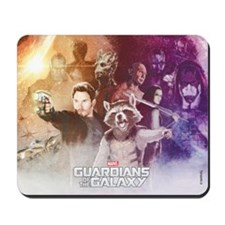 Guardians of the Galaxy Grainy Mousepad