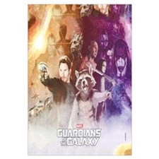 Guardians of the Galaxy Grainy Wall Art