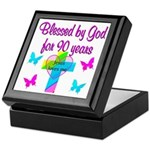 CHRISTIAN 90TH Keepsake Box