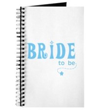 Bride to Be Blue Journal