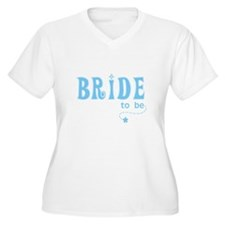 Bride to Be Blue T-Shirt