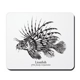 Lionfish Mousepad