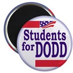 Students for Dodd Fridge Magnet