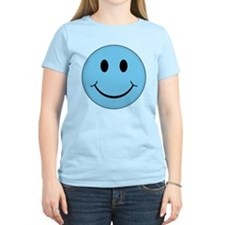 Blue Smiley Face T-Shirt