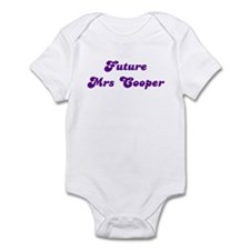 Future  Mrs Cooper Onesie