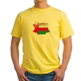 Oman flag ribbon T