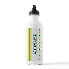 Brazil World Cup Custom Monogram Water Bottle
