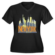 NYC Skyline Bold Plus Size T-Shirt