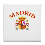 Madrid, Spain Tile Coaster