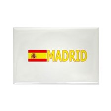 Madrid, Spain Rectangle Magnet (100 pack)
