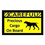 Precious Cargo German Shorthair Sticker (Rect)