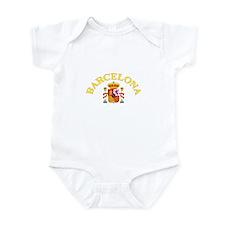 Barcelona, Spain Infant Bodysuit