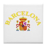 Barcelona, Spain Tile Coaster
