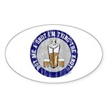 Scott Designs Oval Sticker