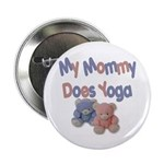 My Mommy Does Yoga Button