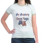 My Mommy Does Yoga Jr. Ringer T-Shirt