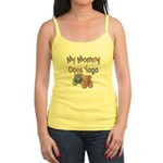 My Mommy Does Yoga Jr. Spaghetti Tank