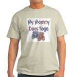 My Mommy Does Yoga Light T-Shirt
