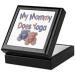 My Mommy Does Yoga Keepsake Box
