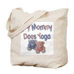 My Mommy Does Yoga Tote Bag
