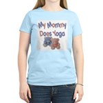 My Mommy Does Yoga Women's Light T-Shirt
