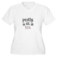 Pretty In Ink Black Plus Size T-Shirt