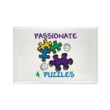 Passionate for Puzzles Magnets