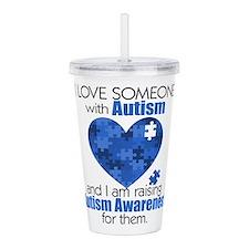Autism Raising Acrylic Double-wall Tumbler