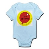 I have asthma-medical alert Onesie