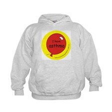 I have asthma-medical alert Hoodie
