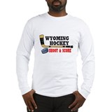 Wyoming Hockey Long Sleeve T-Shirt