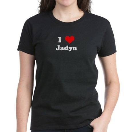 I Love Jadyn Women's Dark T-Shirt